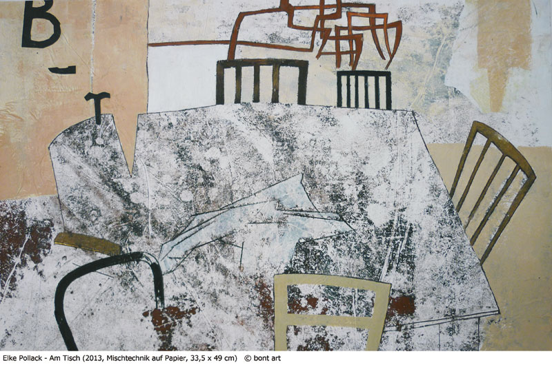 Elke Pollack, Am tisch
